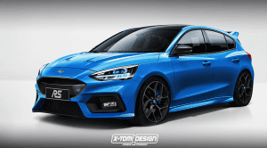 Render Ford Focus RS