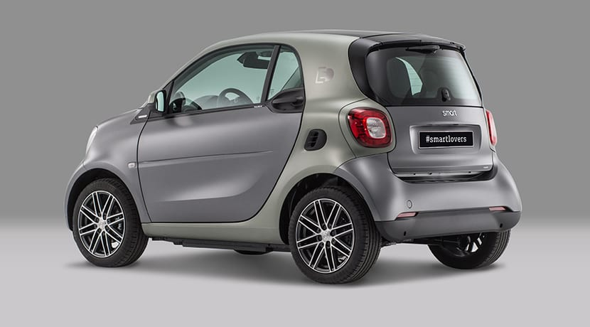 smart fortwo electric edición Pull&Bear