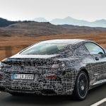 Teaser del BMW M850i