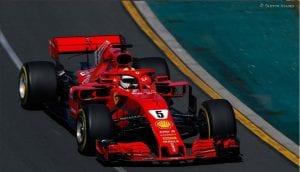 Ferrari Nº5 de Vettel