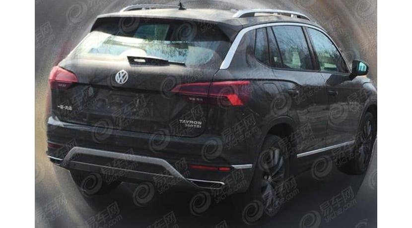 Se filtra el Volkswagen Tayron