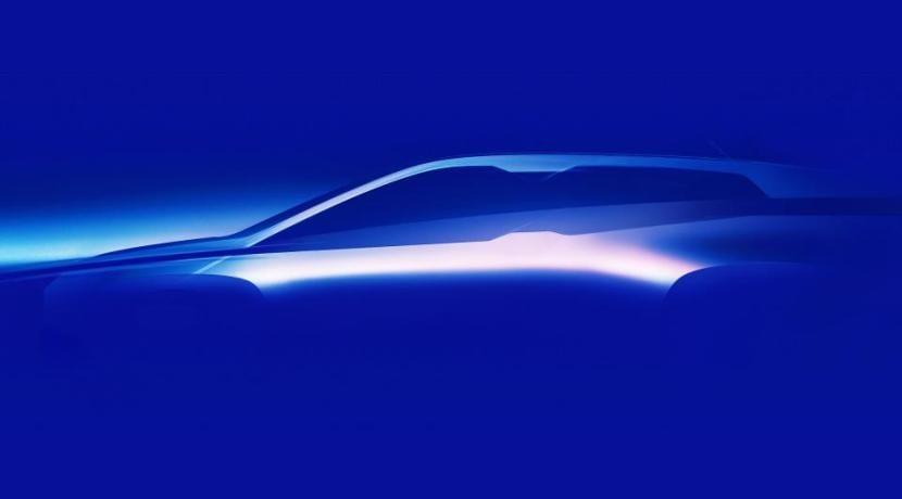BMW iNEXT SUV teaser