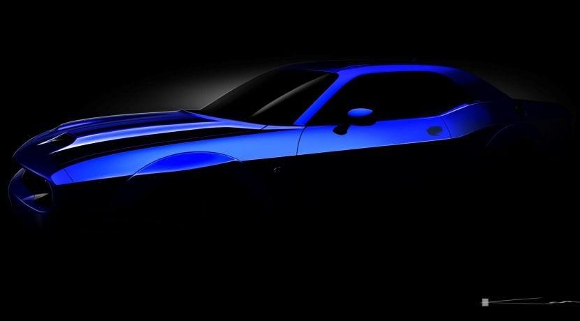 Dodge Challenger SRT 2019 teaser