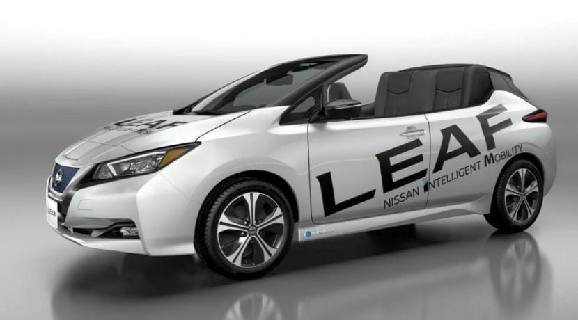 Nissan Leaf Open Car Concept