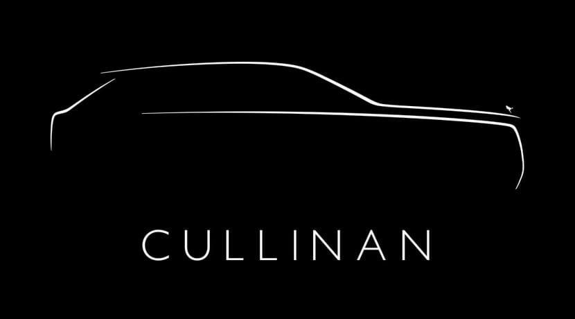 Rolls Royce Cullinan teaser