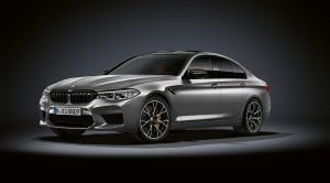 BMW M5 Competition perfil delantero
