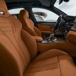 BMW M5 Competition asientos delanteros