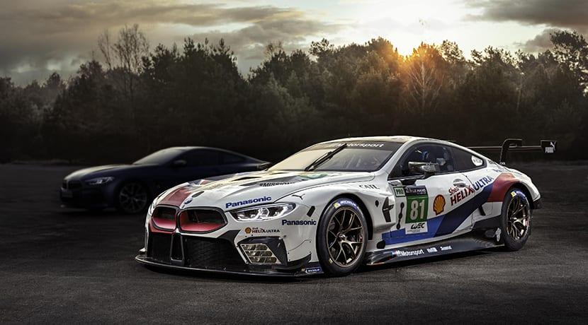 Teaser del BMW Serie 8 Coupé que será presentado en Le Mans