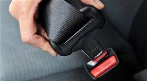 Cinturón de seguridad en los taxis