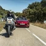 Comparativa de Mazda MX-5 y BMW R nineT Racer