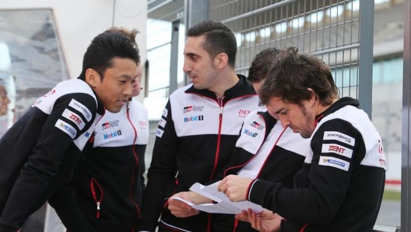 Buemi, Nakajima y Alonso