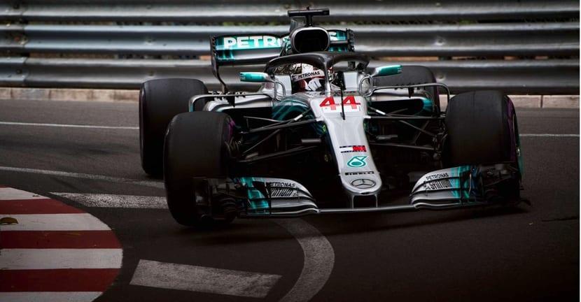 Hamilton en Mónaco 2018
