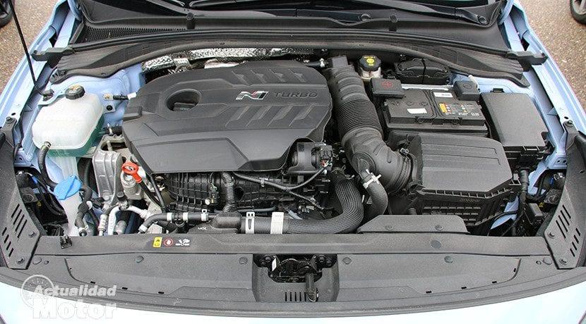 Motor del Hyundai i30 N