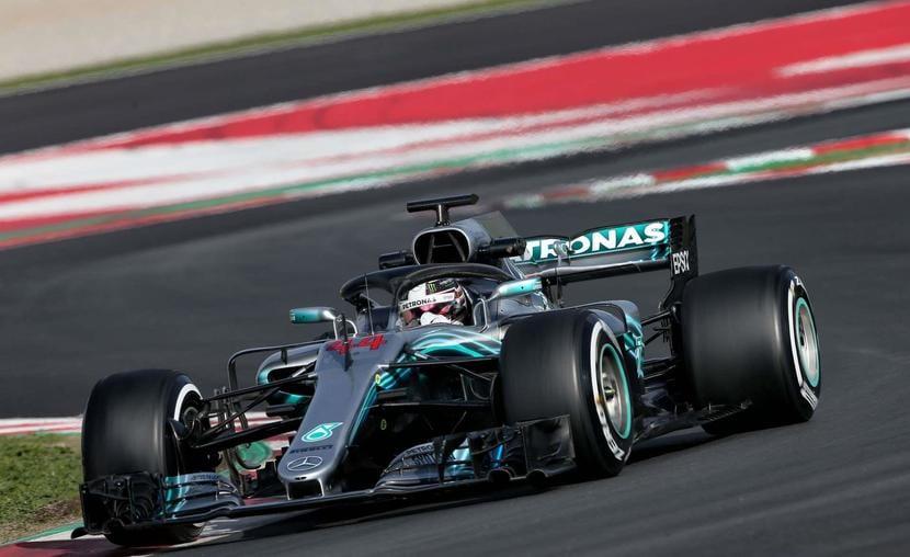 Mercedes de Hamilton F1 2018