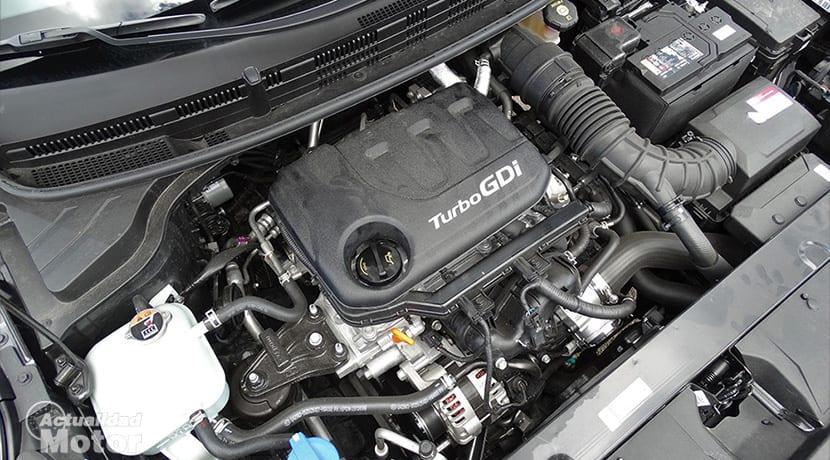 Prueba Kia Stonic motor 1.0 Turbo