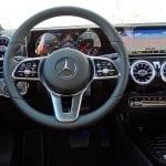 Prueba Mercedes Clase A Diseño interior