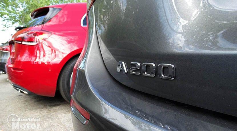 Prueba Mercedes Clase A gama