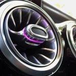 Prueba Mercedes Clase A aireadores con luz de ambiente