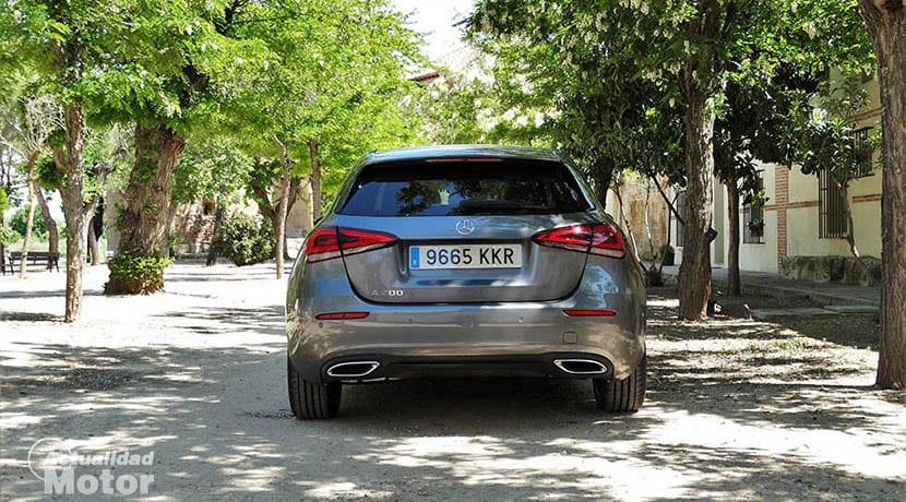 Prueba Mercedes Clase A trasera