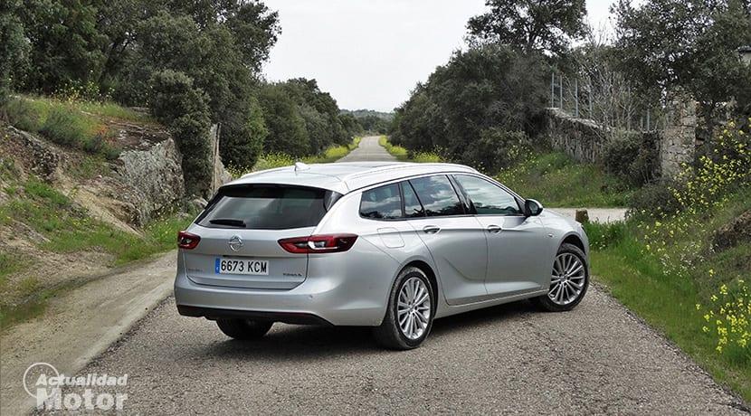 Prueba Opel Insignia Sports Tourer perfil trasero