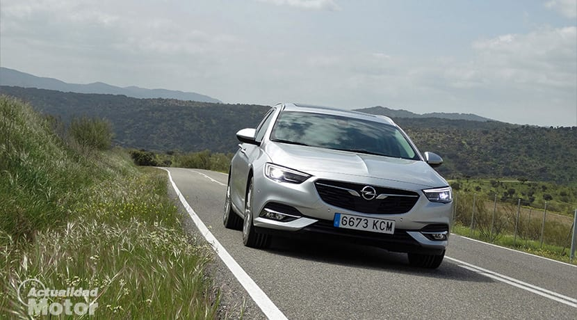 Prueba Opel Insignia Sports Tourer delantera