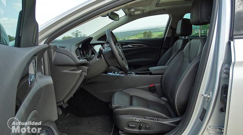 Prueba Opel Insignia Sports Tourer plazas delanteras