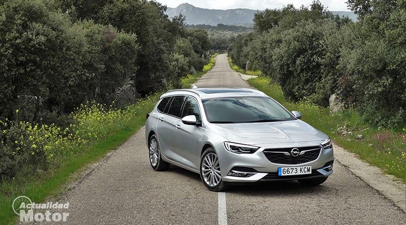 Prueba Opel Insignia Sports Tourer perfil delantero