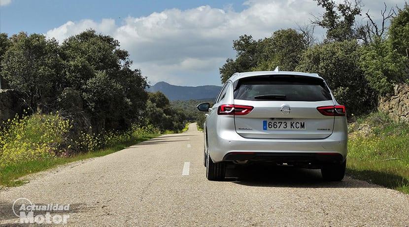 Prueba Opel Insignia Sports Tourer trasera