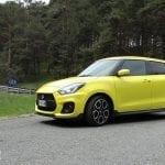 Prueba Suzuki Swift Sport exterior