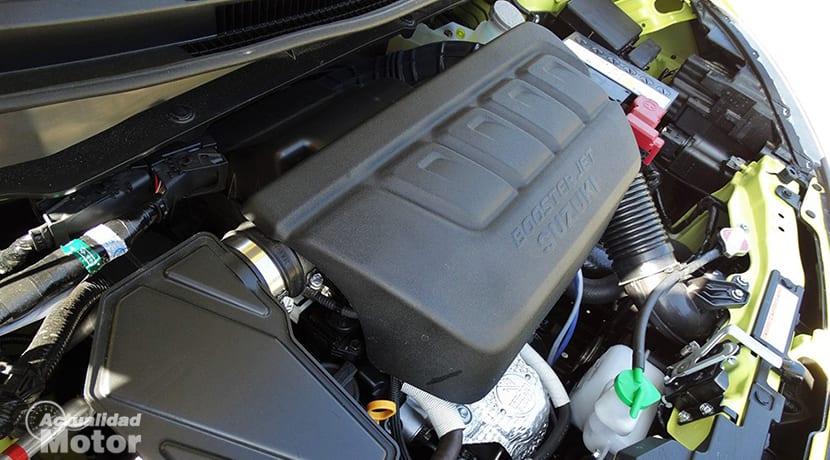 Prueba Suzuki Swift Sport motor