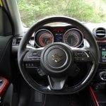 Prueba Suzuki Swift Sport detalle interior