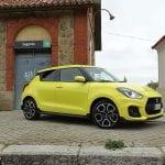 Prueba Suzuki Swift Sport detalle exterior