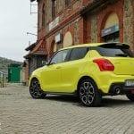 Prueba Suzuki Swift Sport exteriores