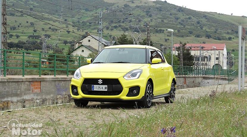 Prueba Suzuki Swift Sport perfil