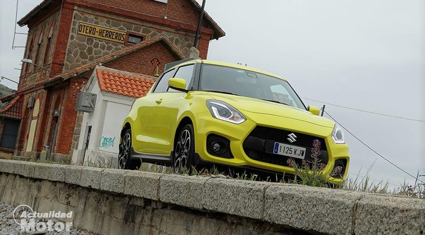 Prueba Suzuki Swift Sport perfil delantero
