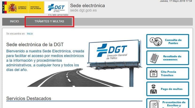 Cómo consultar las multas de tráfico por matrícula
