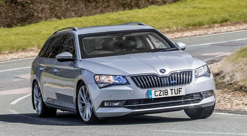 Skoda Superb blindado
