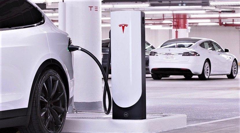 Supercargadores de Tesla V3