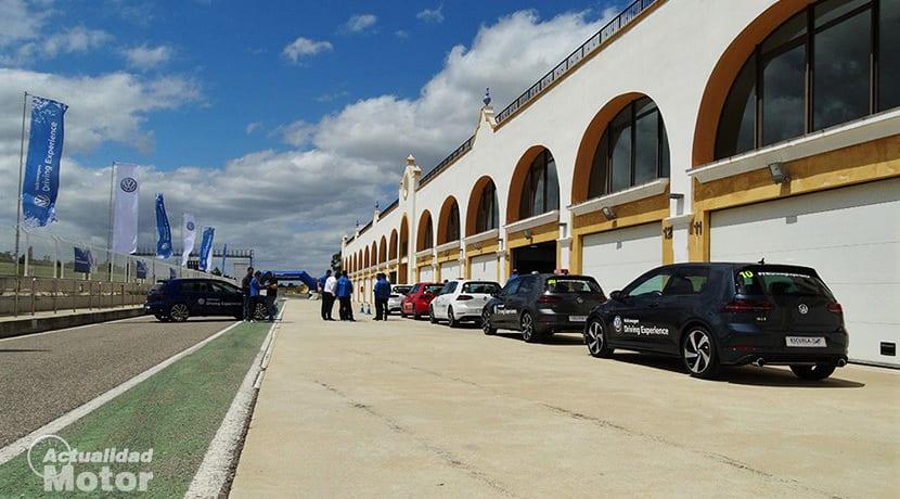 Volkswagen Driving Experience en el Circuito de Monteblanco