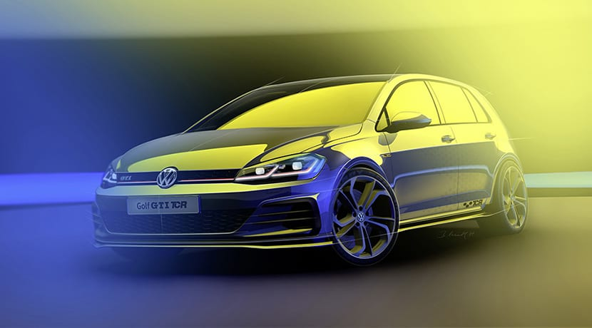 Volkswagen Golf GTI TCR perfil