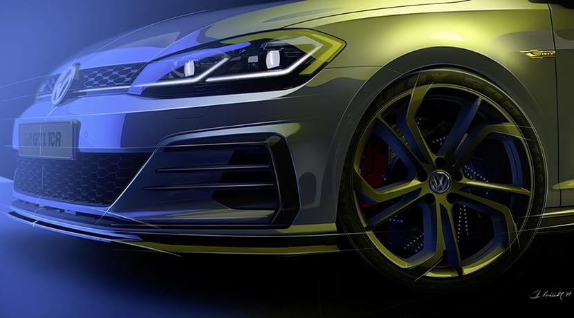 Volkswagen Golf GTI TCR llantas