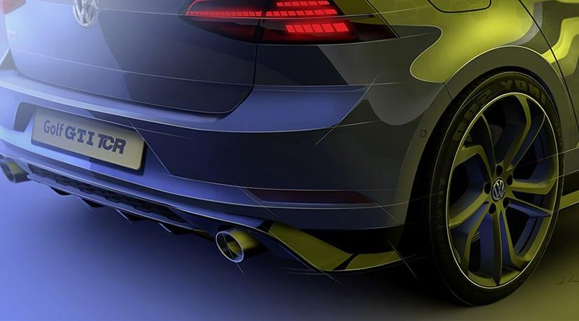Volkswagen Golf GTI TCR trasera