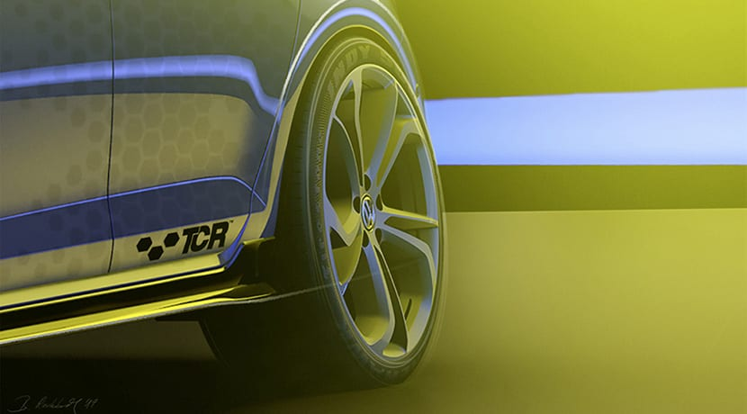 Volkswagen Golf GTI TCR detalle