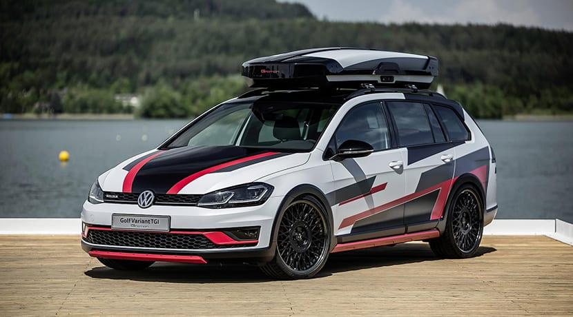 Volkswagen Golf Variant TGI GMotion prototipo