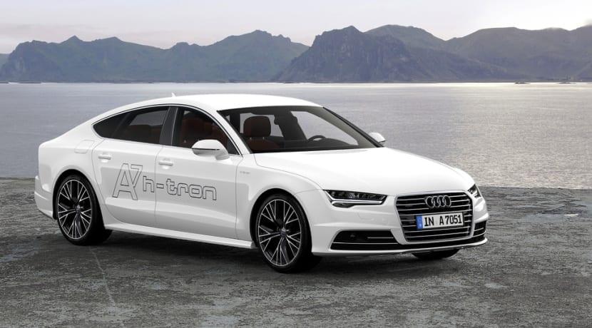 Audi A7 Sportback h-tron quattro pila de hidrógeno