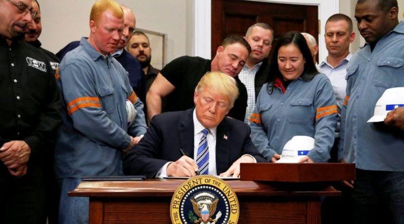 Donald Trump Sector del Automóvil