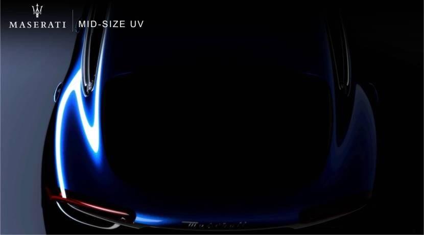 Maserati Mid-Size UV Grupo FCA