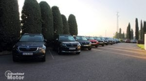 Prueba Gama SUV Skoda