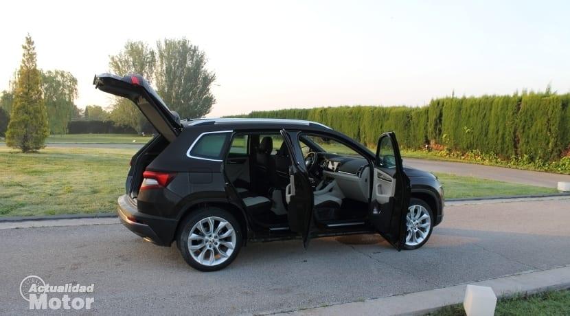 Prueba Gama SUV Skoda Karoq