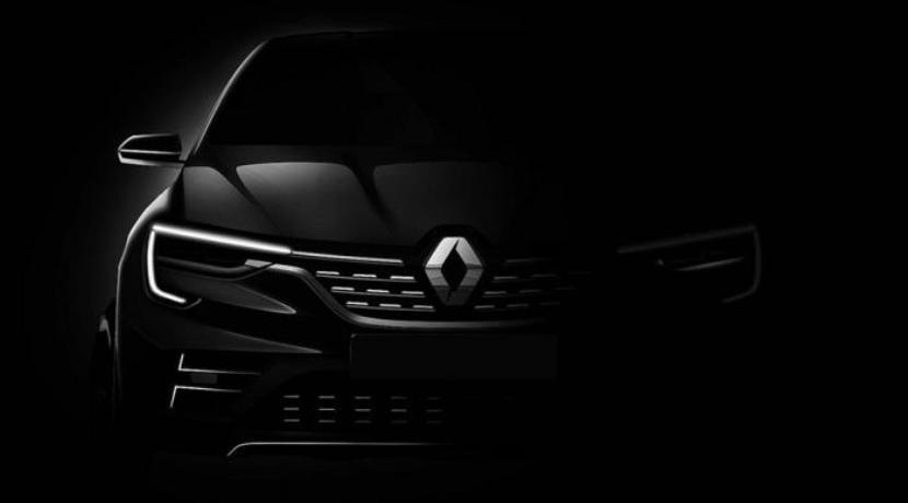 Renault Crossover Concept 2018 teaser 0